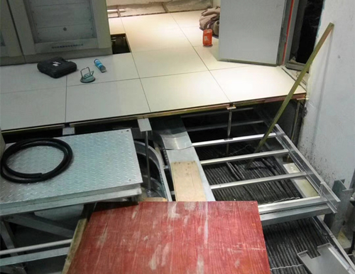 陶瓷面静电地板施工图
