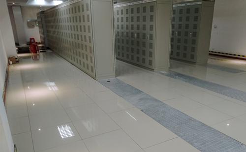 陶瓷防静电地板an例_变电站