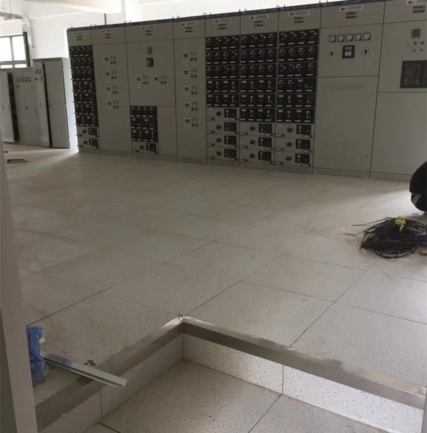 绿色PVC防静电地板