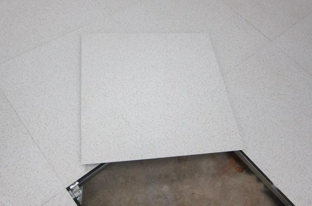 无边防静电地板组装图