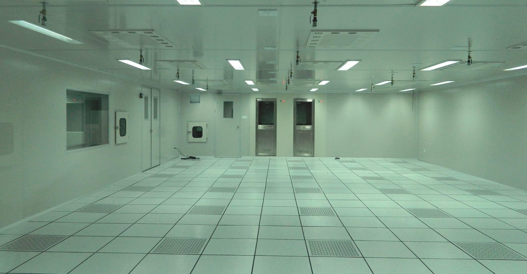 百级洁净室防静电地板案例