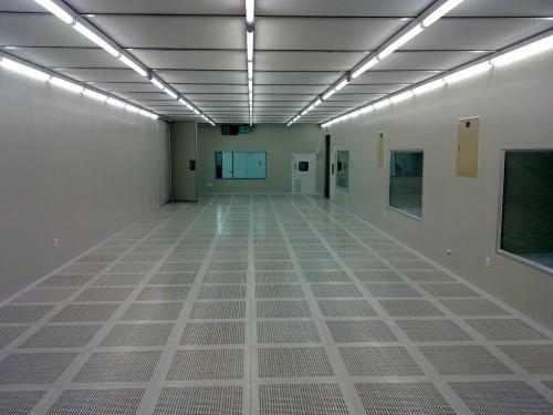 千级洁净室防静电地板案例