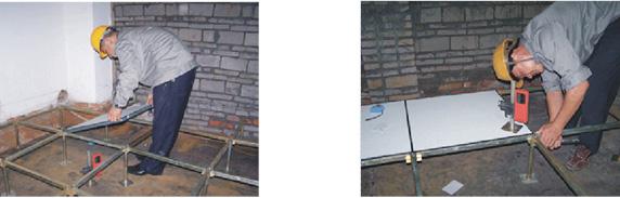 防静电地板施工工艺4