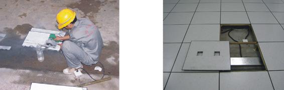 防静电地板施工工艺7